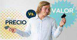 Precio vs valor