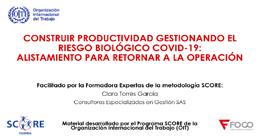 Construir productividad Gestionando el Riesgo Biológico COVID-19