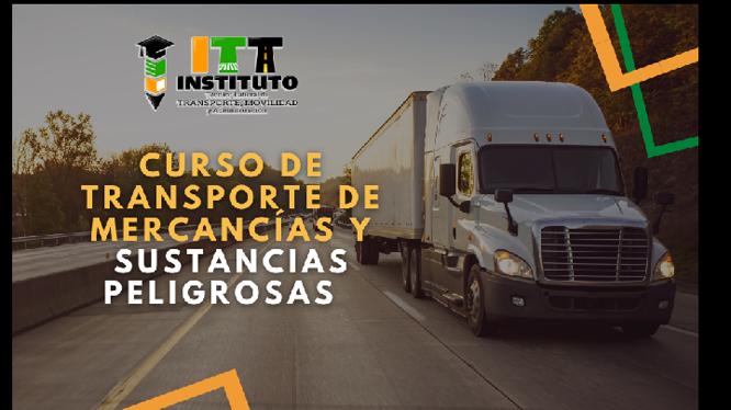CURSO PARA EL TRANSPORTE DE SUSTANCIAS PELIGROSAS – MODALIDAD VIRTUAL